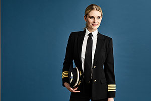 Airline staff uniforms for women