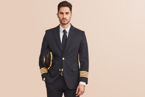 Airline crew uniforms for men