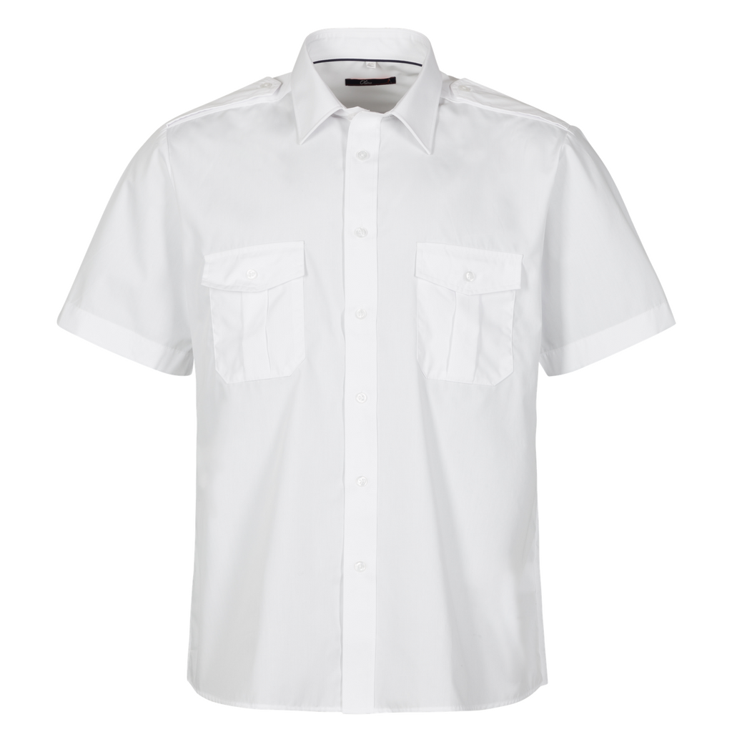 974064_White pilot shirt with short sleeve.png