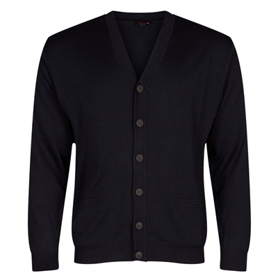974305_V-neck cardigan navy for men.png